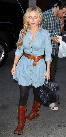 Hayden Panettiere out and about in NY 10/16/12