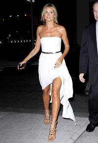 Heidi Klum - At her hotel in New York Sept 5, 2012