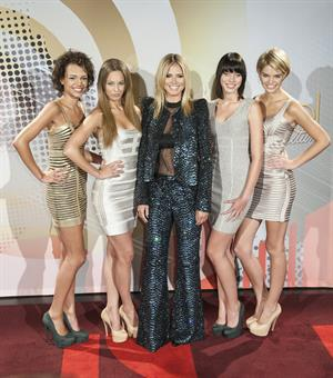 Heidi Klum - Germany's Next Top Model Finalists Photocall, Germany, June 4, 2012