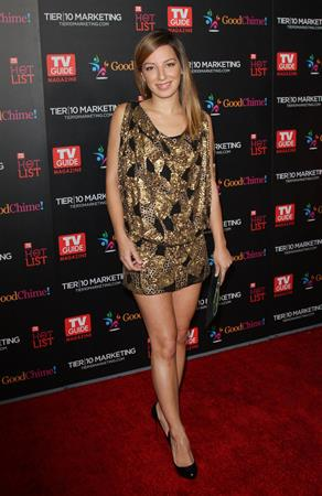 Vanessa Lengies TV Guide Magazine Hot List Party -- West Hollywood, Nov. 7, 2011