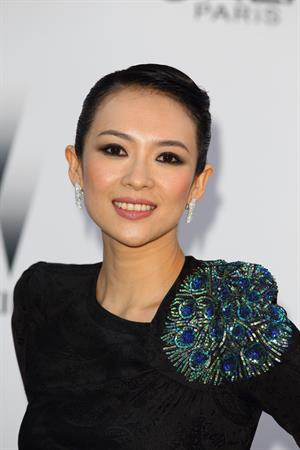 Zhang Ziyi amfars Cinema Against AIDS Gala in Antibes France on May 19, 2011
