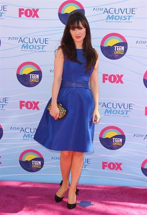 Zooey Deschanel - 2012 Teen Choice Awards in Universal City (July 22, 2012)