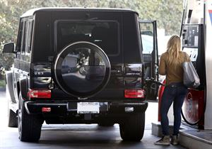 Hilary Duff in Los Angeles 10/27/13