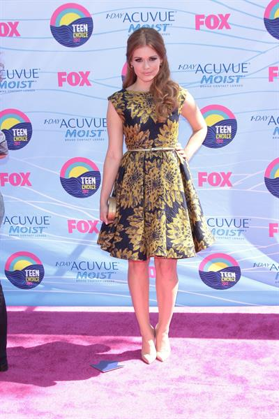 Holland Roden - 2012 Teen Choice Awards in Universal City (July 22, 2012)