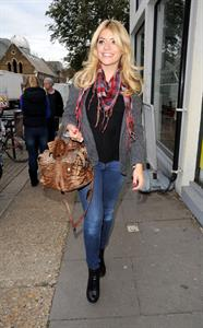 Holly Willoughby The Riverside Studios in London - October 10, 2012