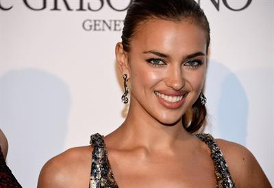 Irina Shayk de Grisogono party 65th annual Cannes film festival on May 23, 2012