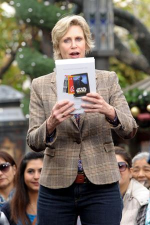 Jane Lynch Visits 'Etra' at The Grove in Los Angeles (December 4, 2012)