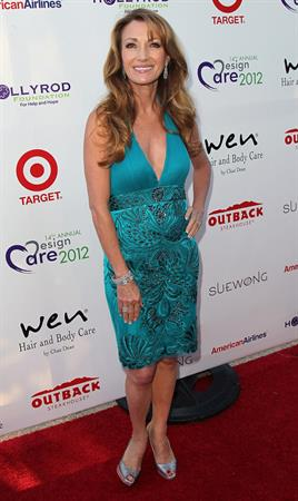 Jane Seymour  14th Annual DesignCare to Benefit The Hollyrod Foundation - July 21. 2012.