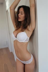 Mathilde Gøhler in lingerie