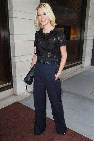 January Jones cocktail party at the Louis Vuitton store on July 13, 2010 in Beverly Hills California