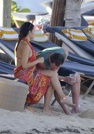Jenna Dewan-Tatum - at the beach in St Barts 12/31/12