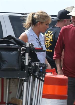 Jennifer Aniston set of 'We're the Miller' in NM 9/24/12