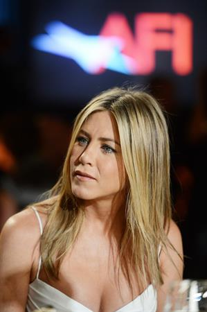 Jennifer Aniston - AFI Life Achievement Award Honoring Shirley MacLaine in LA June 7, 2012