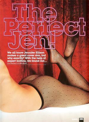 Jennifer Ellison from Loaded Dec 2008
