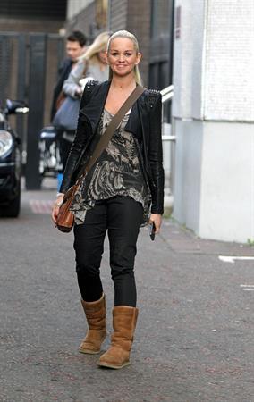 Jennifer Ellison ITV studios in London on February 17, 2012
