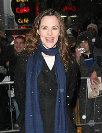 Jennifer Garner arriving at the Good Morning America Studios in New York City February 10, 2010