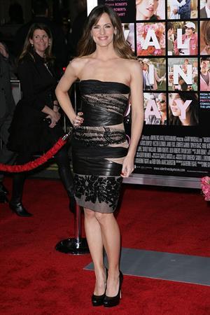 Jennifer Garner Valentine's Day Los Angeles premiere on February 8, 2010