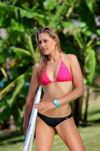 Erica Hosseini in a bikini