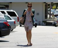 Jennifer Garner seen chatting away on her cellphone in Brentwood