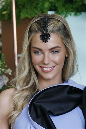 Jennifer Hawkins Melbourne Cup Carnival - November 6, 2012
