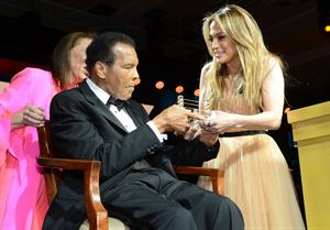 Jennifer Lopez Muhammad Ali's Celebrity Fight Night XIX in Phoenix, Mar. 23, 2013