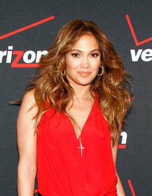 Jennifer Lopez Verizon Wireless meet Jennifer Lopez Flyaway Contest in Santa Monica on January 26, 2013