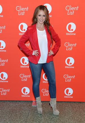 Jennifer Love Hewitt The Client List Valentine's Day Event in West Hollywood February 14, 2013
