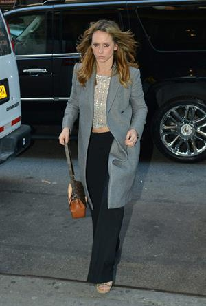 Jennifer Love Hewitt Out in New York City March 4, 2013