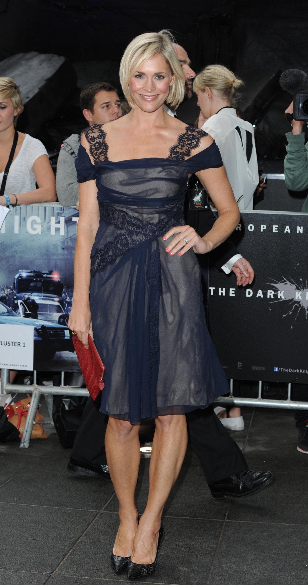 Jenni Falconer - 'The Dark Knight Rises', London - July 18, 2012