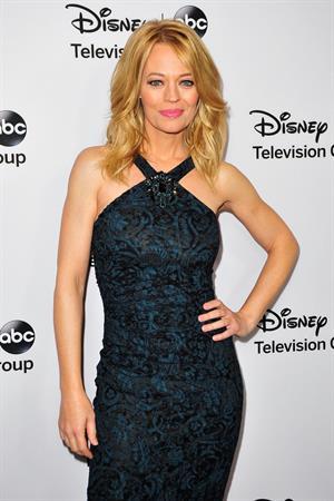 Jeri Ryan 2013 TCA Winter Press Tour - Disney ABC Television Group Red Carpet Gala (Jan 10, 2013)