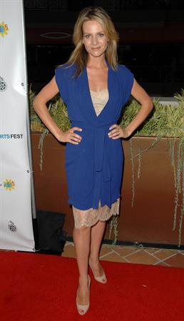 Jessalyn Gilsig LA Shorts Fest 2009 opening night July 23rd 2009