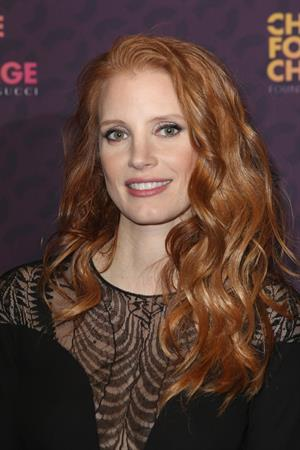 Jessica Chastain 'Chime For Change: The Sound Of Change Live' concert in London June 1st, 2013