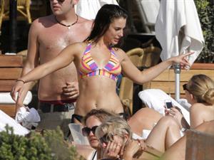 Jessica Lowndes wearing a bikini in Spain June 26, 2012