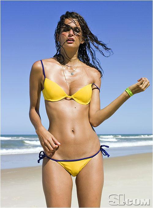 Fernanda Motta in a bikini
