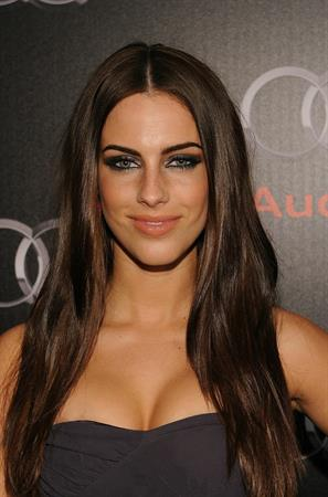 Jessica Lowndes hosting a private dinner during the Super Bowl weekend in Dallas on Feb 5, 2011