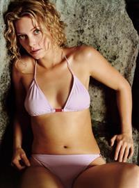 Amanda Detmer in a bikini