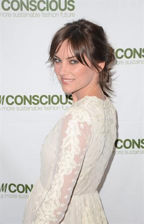 Jessica Stroup H&M's Exclusive Conscious Collection Launch Party in San Francisco, April 3, 2013