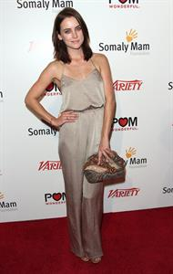 Jessica Stroup at The Life Is Love: Cocktail Event in Hollywood - September 22, 2012