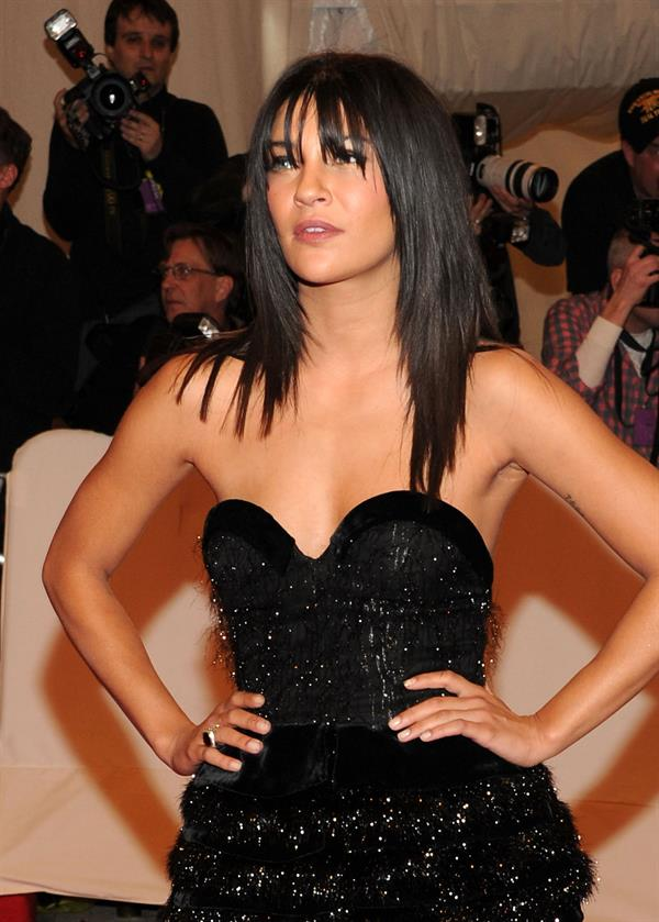 Jessica Szohr attends the Metropolitan Museum of Art Costume Institute Benefit on May 2, 2011