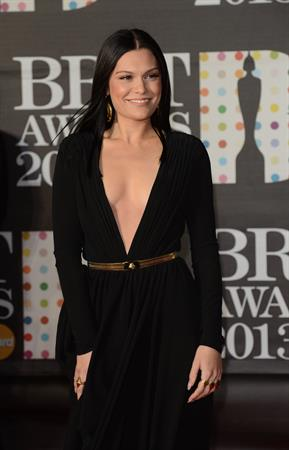 Jessie J at the 2013 BRIT Awards at the O2 Arena in London on February 20, 2013
