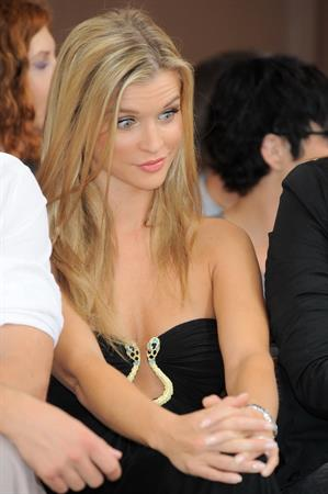 Joanna Krupa to judge the Polish Top Model seen out in Warsaw on August 10, 2010