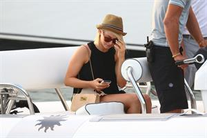 Julianne Hough shopping in St Barts 1/3/13