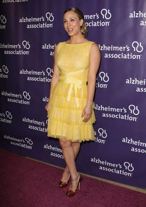 Kaley Cuoco 20th anniversary of the Alzheimers Association on March 21, 2012