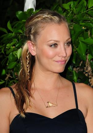 Kaley Cuoco attendsw the Hollywood Foreign Press Association Annual Installation Luncheon on July 28, 2010
