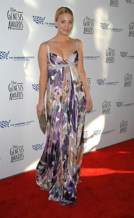 Kaley Cuoco 22nd annual Genesis Awards in Beverly Hills