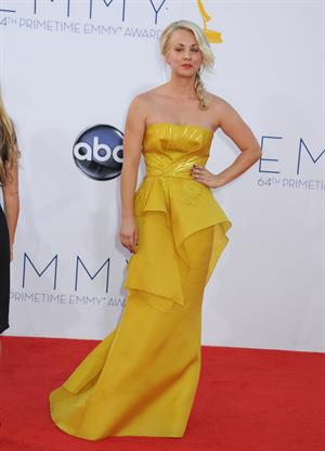 Kaley Cuoco - 64th Primetime Emmy Awards LA on September 23, 2012