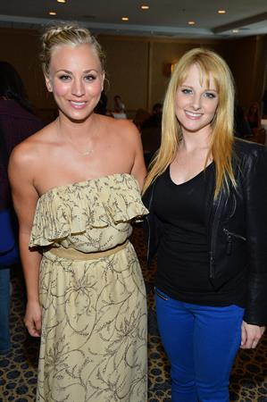 Kaley Cuoco -  The Big Bang Theory  Press Room at Comic-Con 2012 in San Diego (July 13, 2012)