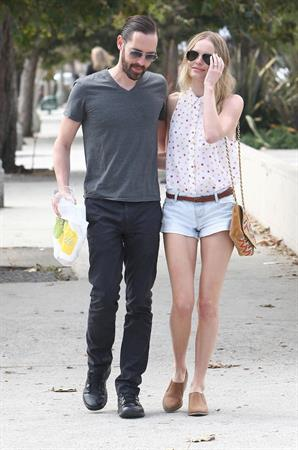 Kate Bosworth out shopping in Los Angeles October 3, 2012