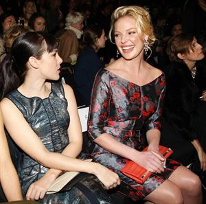 Katherine Heigl REVLON Sponsors J Mendel for NY Fashion Week Fall/Winter 2013 February 13, 2013