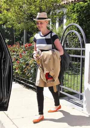 Katherine Heigl in Los Angeles on April 17, 2013